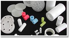 プラスチック焼結多孔質体の画像